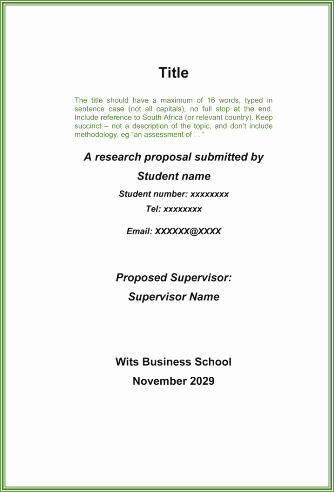 Bill Proposal Example Awesome Research Proposal Template 3 Printable Samples