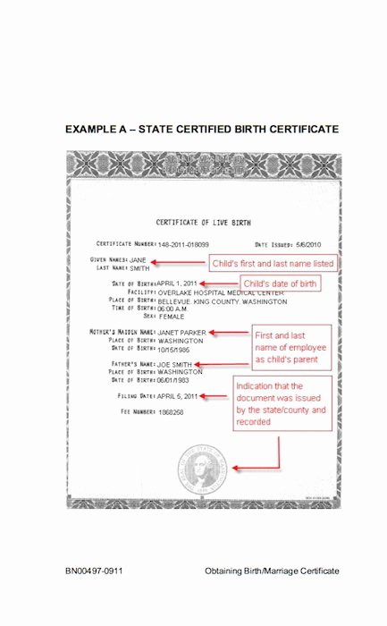 Birth Certificate Template Free Fresh 15 Birth Certificate Templates Word & Pdf Template Lab