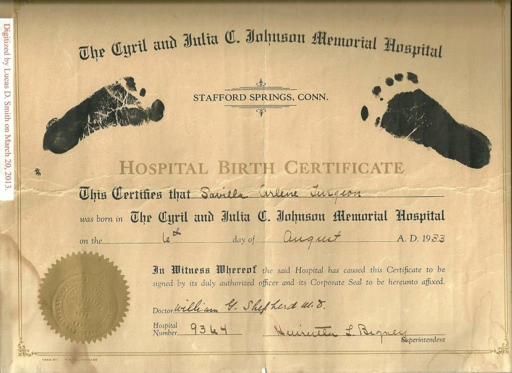 Birth Certificate Template with Footprints New Image Result for Hospital Birth Certificate