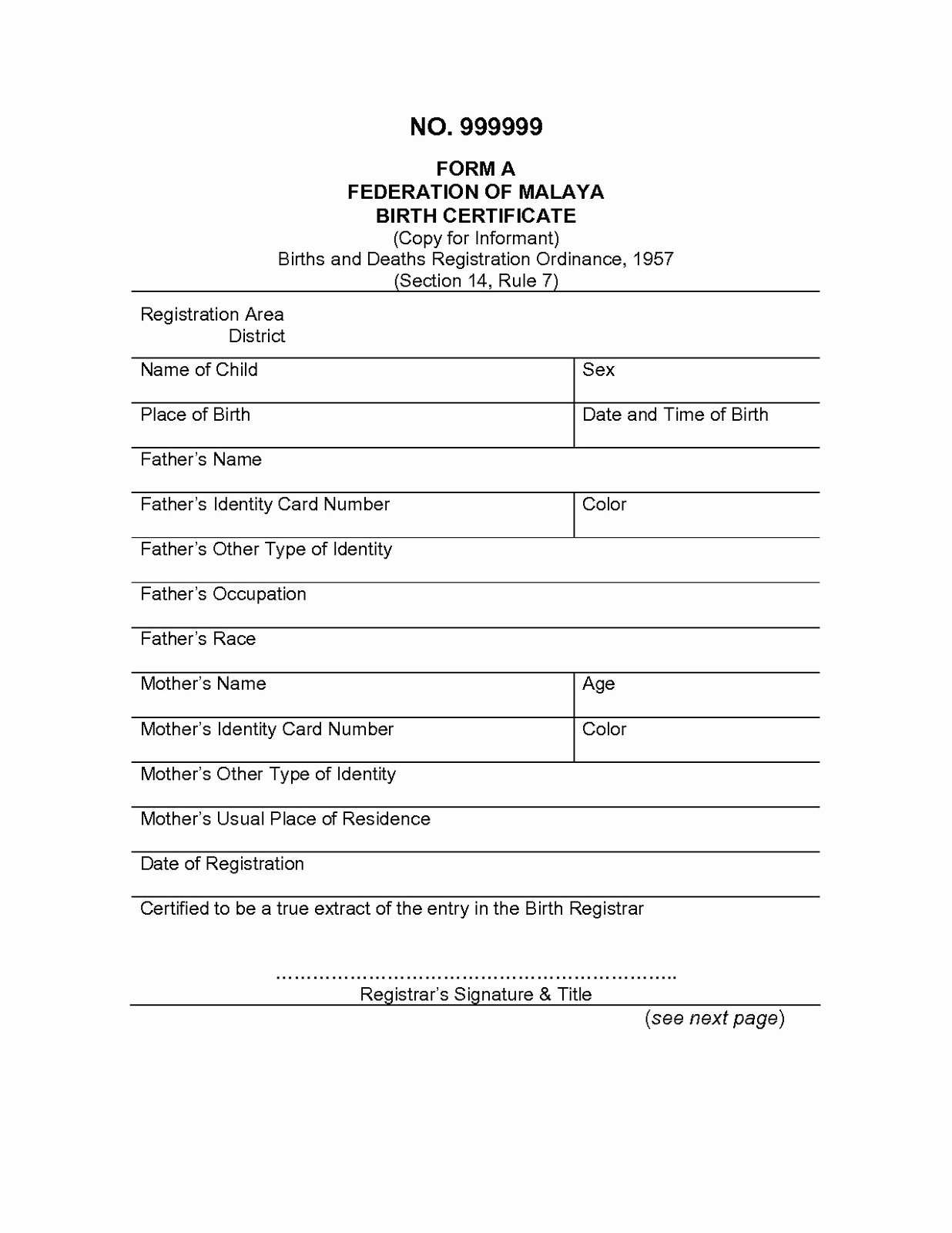 Birth Certificate Translation From Spanish to English Template New Birth Certificate Template Translation