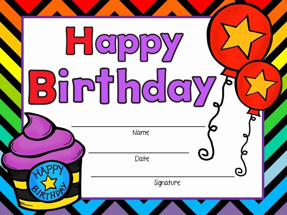 Birthday Certificate for Kids Luxury Free Birthday Certificates Boy and Girl