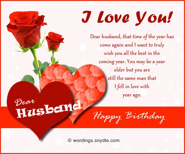 Birthday Letter to My Husband Beautiful Birthday Wishes for Husband Husband Birthday Messages and