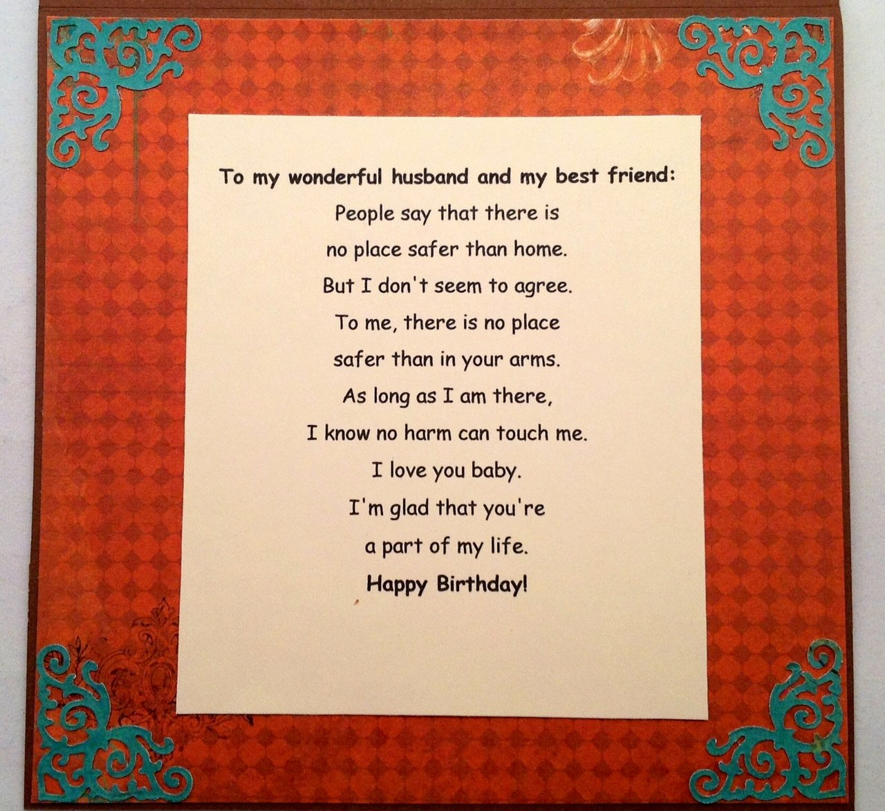 Birthday Letter to My Husband Best Of Our Life In Colors Happy Birthday My Dear Husband