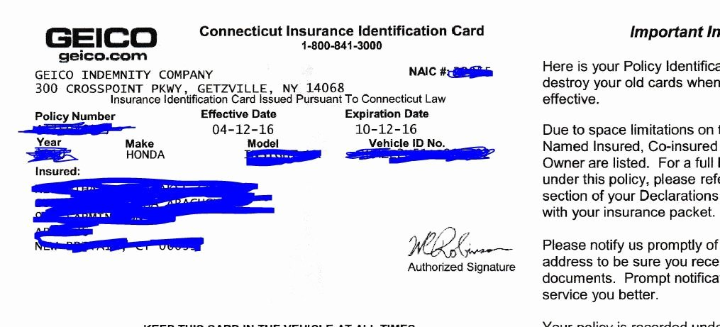Blank Auto Insurance Card Template Awesome 23 Of Michigan Auto Insurance Card Template