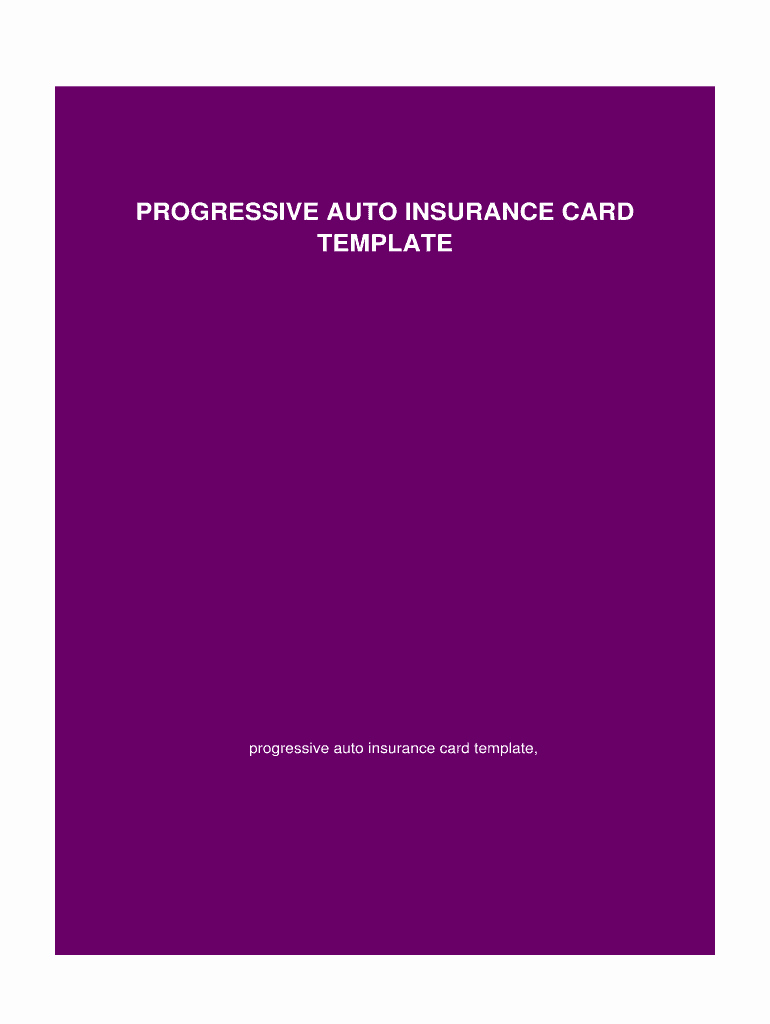 Blank Auto Insurance Card Template Awesome Blank Progressive Insurance Card Fill Line Printable