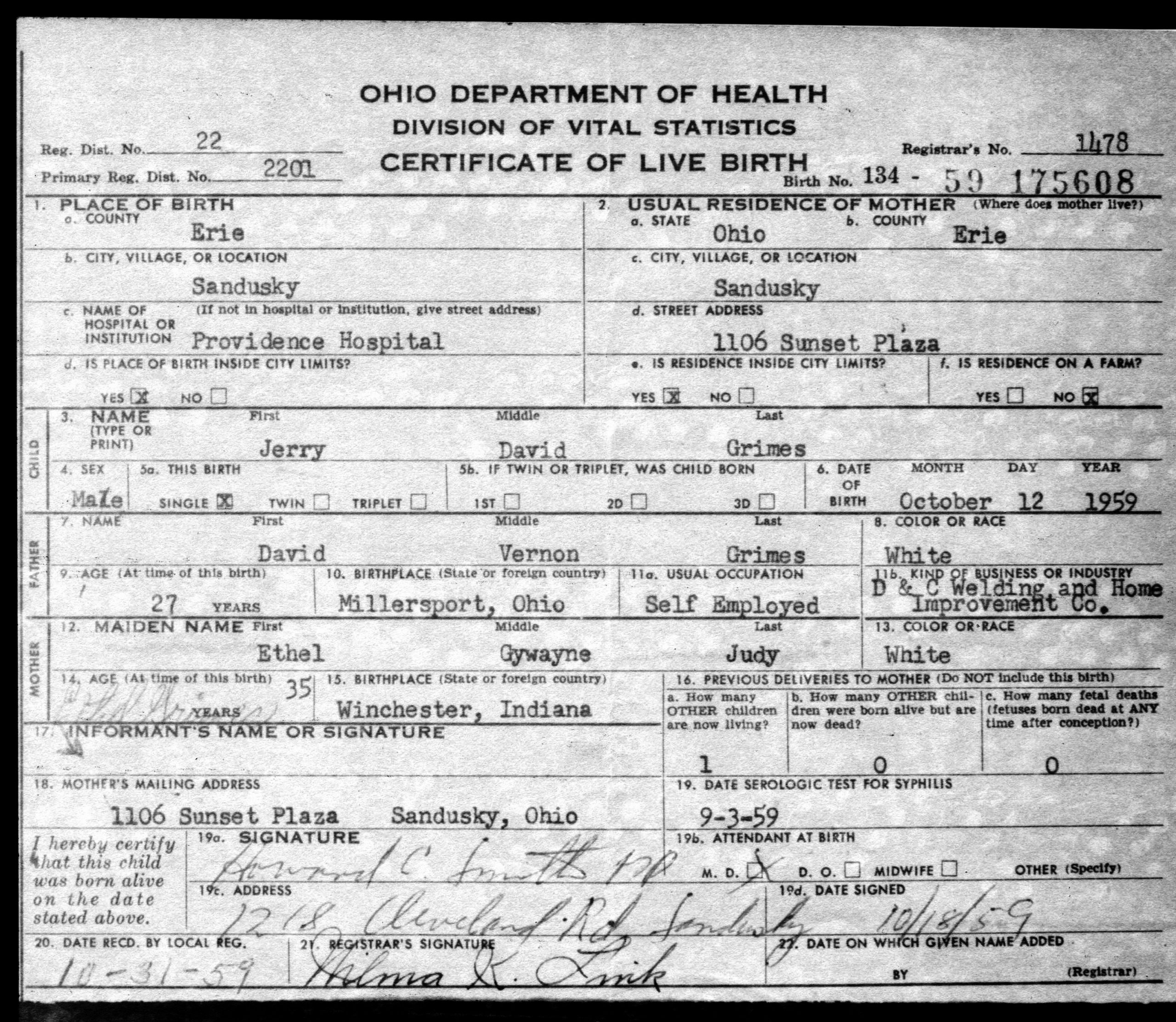 Blank Birth Certificate form Luxury Blank Birth Certificate Ohio