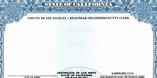 Blank Birth Certificate Images Elegant California Considers Gender Neutral Birth Certificate