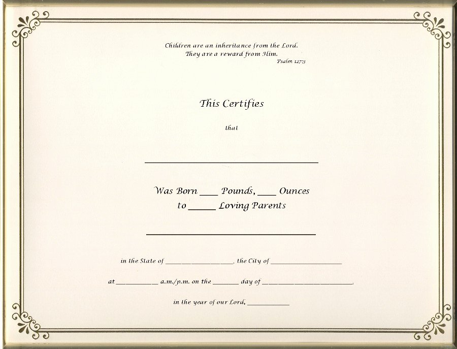 Blank Birth Certificate Images Inspirational Best S Of Old Blank Birth Certificates Old Blank