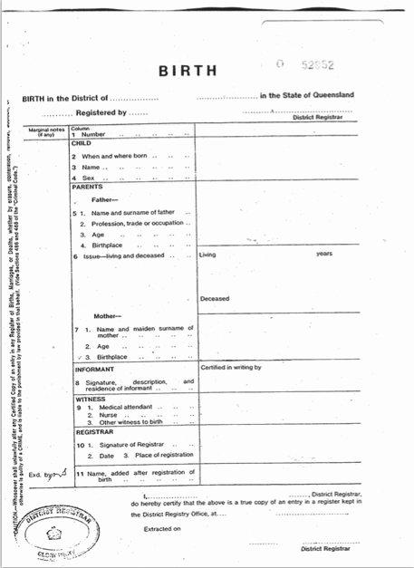 Blank Birth Certificate Template Fresh 15 Birth Certificate Templates Word & Pdf Template Lab