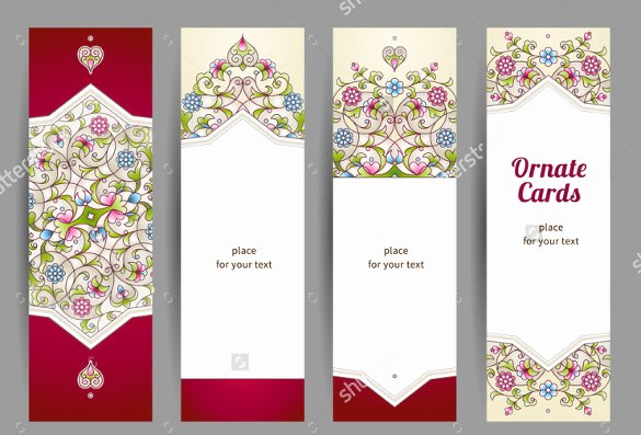 Blank Bookmark Template Word Luxury Blank Bookmark Template 135 Free Psd Ai Eps Word
