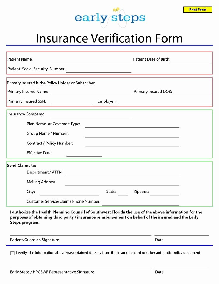 Blank Car Insurance Card Template Best Of Template for Insurance Information In Planner