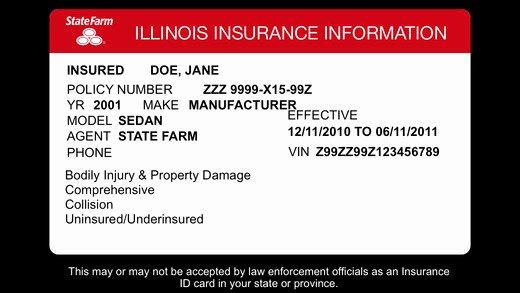 Blank Car Insurance Card Template Fresh 23 Of Michigan Auto Insurance Card Template