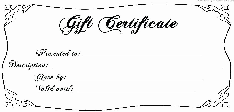Blank Christmas Gift Certificate Template Fresh Image Result for T Certificate Template Free