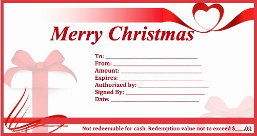 Blank Christmas Gift Certificate Template Lovely Download Christmas Gift Certificate Templates Wikidownload