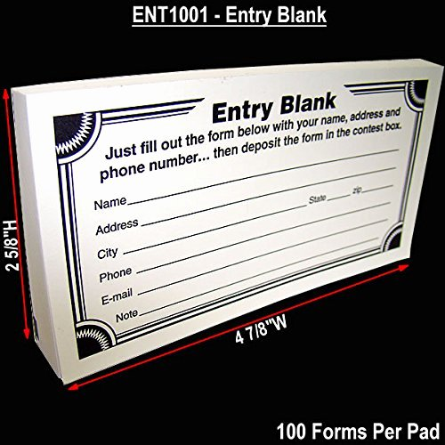 Blank Contest Entry form Template Best Of Bestselling Suggestion Box Cards