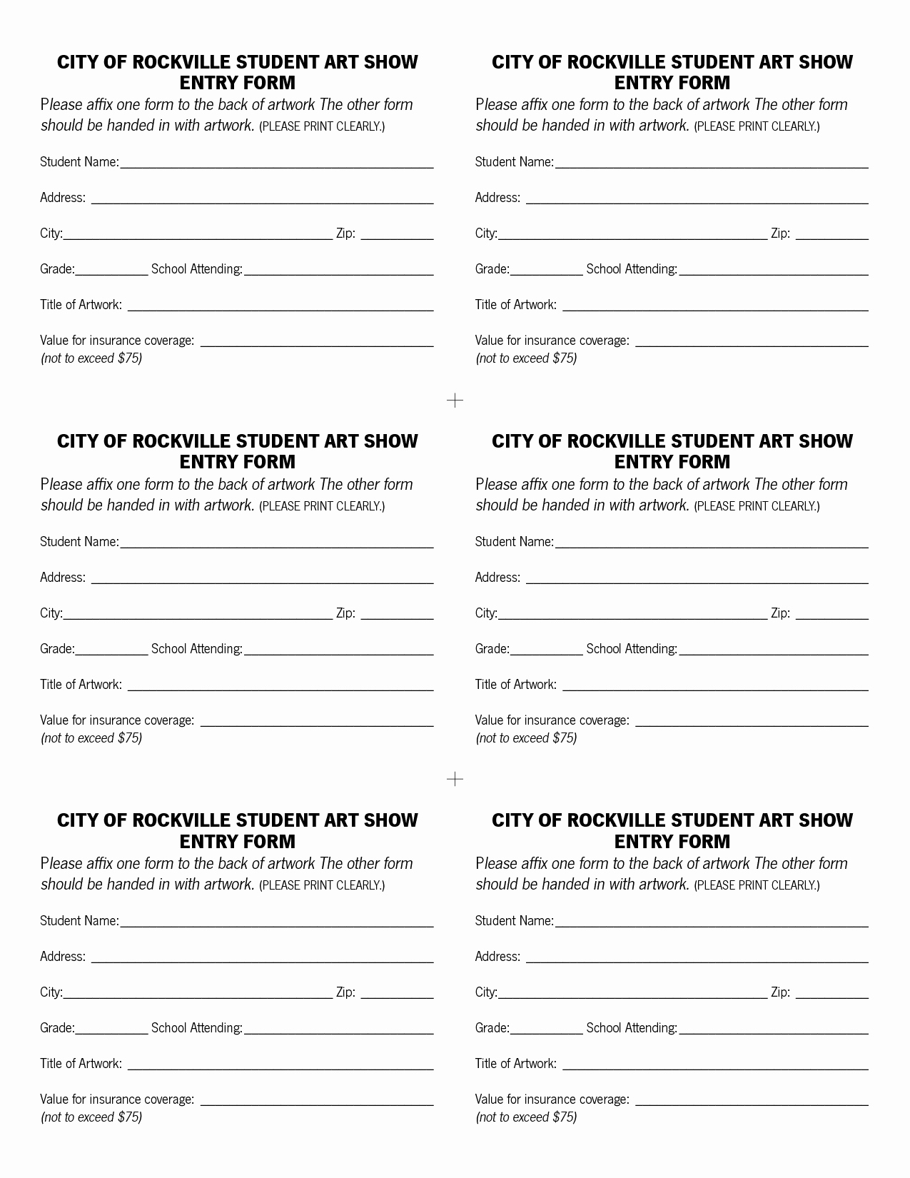 Blank Contest Entry form Template Elegant Raffle Entry form Template
