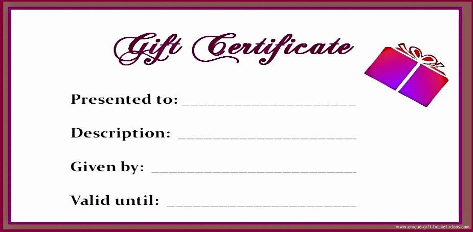Blank Gift Certificate Paper Lovely Free Printable Blank Gift Certificates