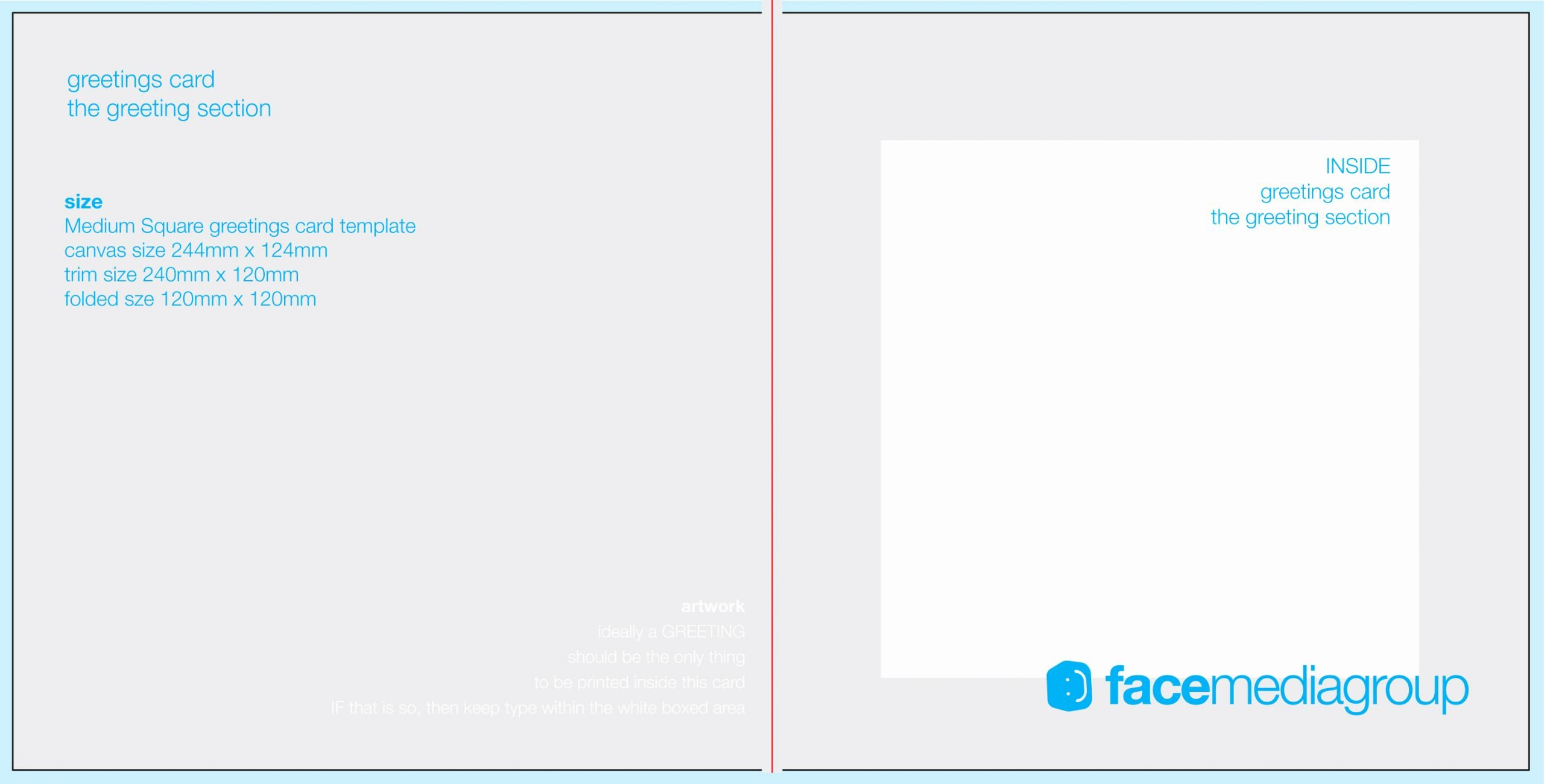 Blank Insurance Card Template Awesome Free Blank Greetings Card Artwork Templates for Download
