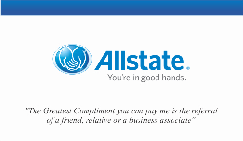 Blank Insurance Card Template Inspirational order Allstate Insurance Business Card Templates