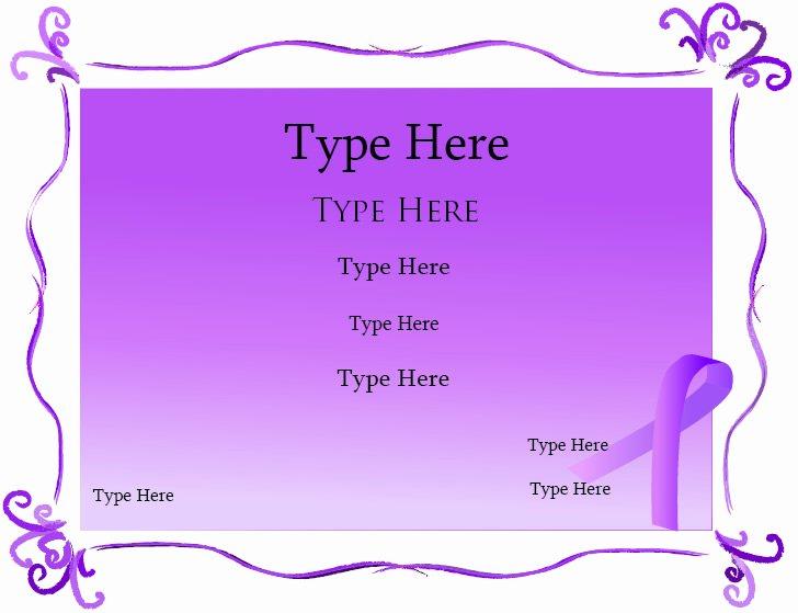 Blank Purple Heart Certificate Best Of Blank Certificates Purple Ribbon Certificate