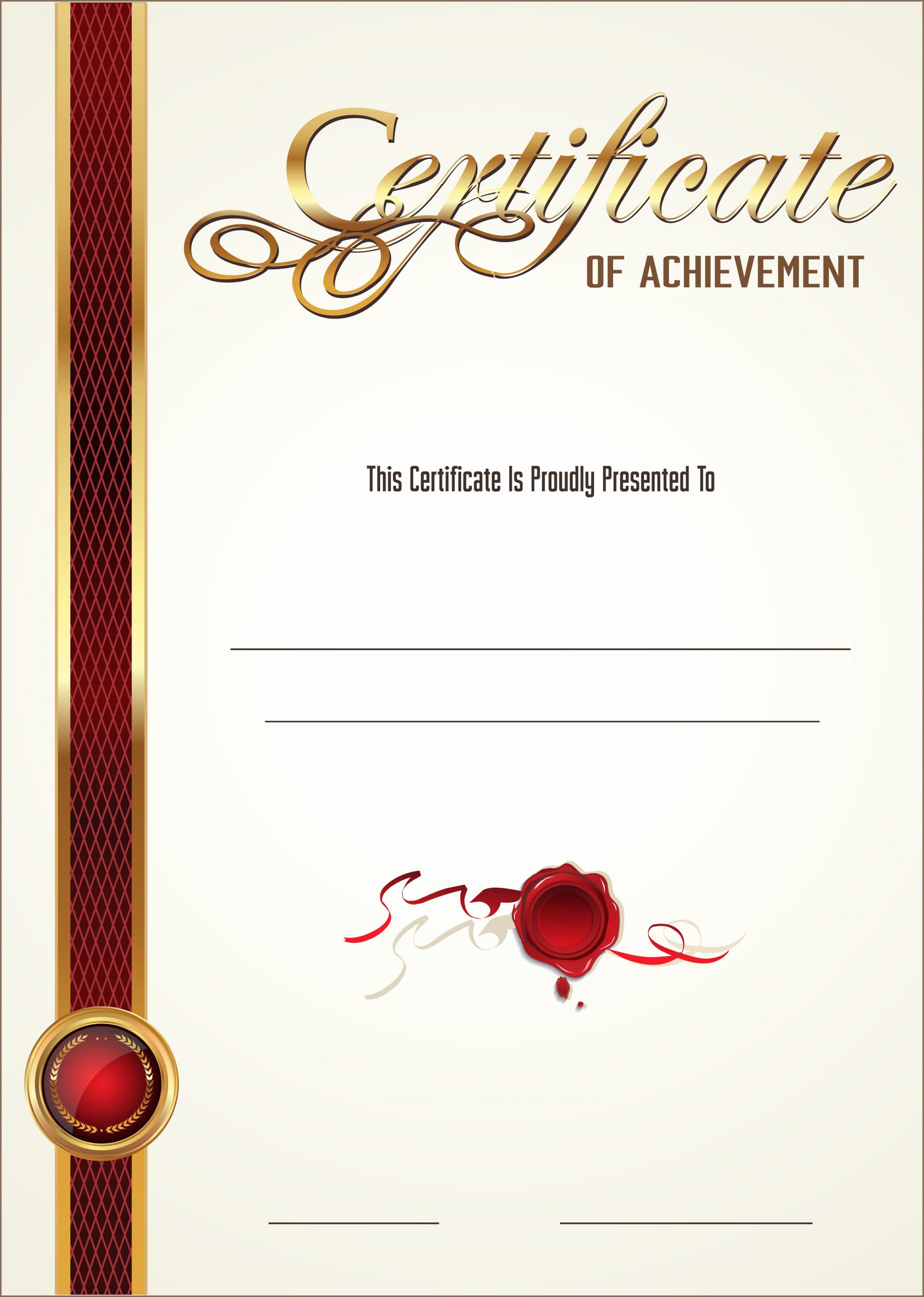 Blank Purple Heart Certificate Elegant Certificate Empty Blank Png Image