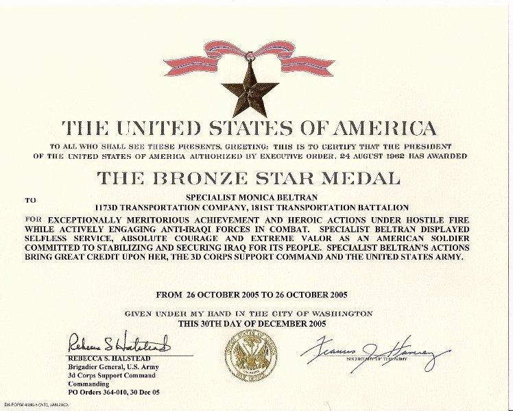 Blank Purple Heart Certificate Inspirational Bronze Star Medal Howling Pixel