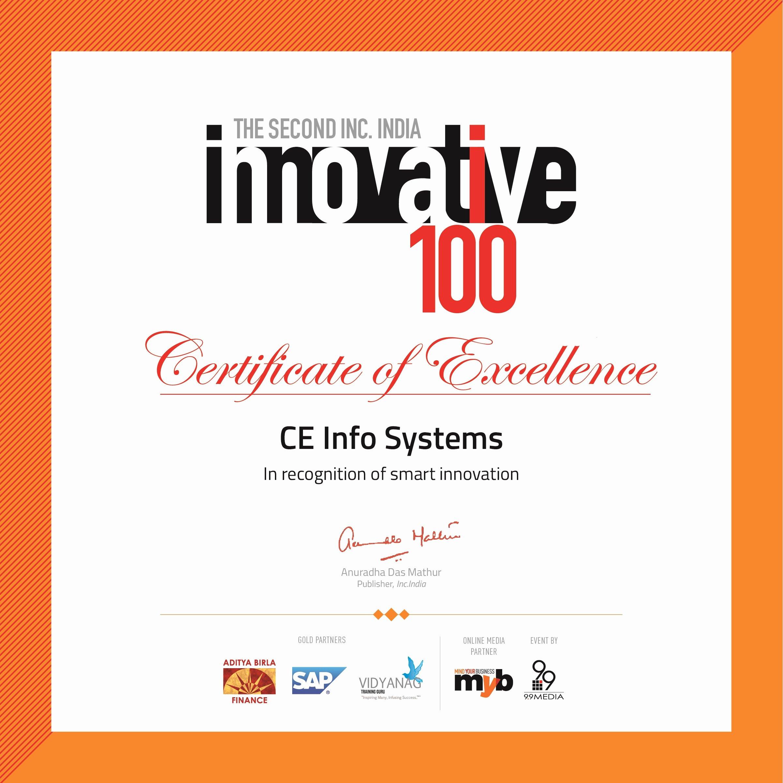 Blue Falcon Award Certificate Pdf Fresh Mapmyindia Awarded at the 2nd Inc India Innovative100