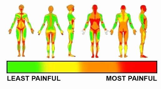 Body Piercing Pain Chart Beautiful Pin On •tats•