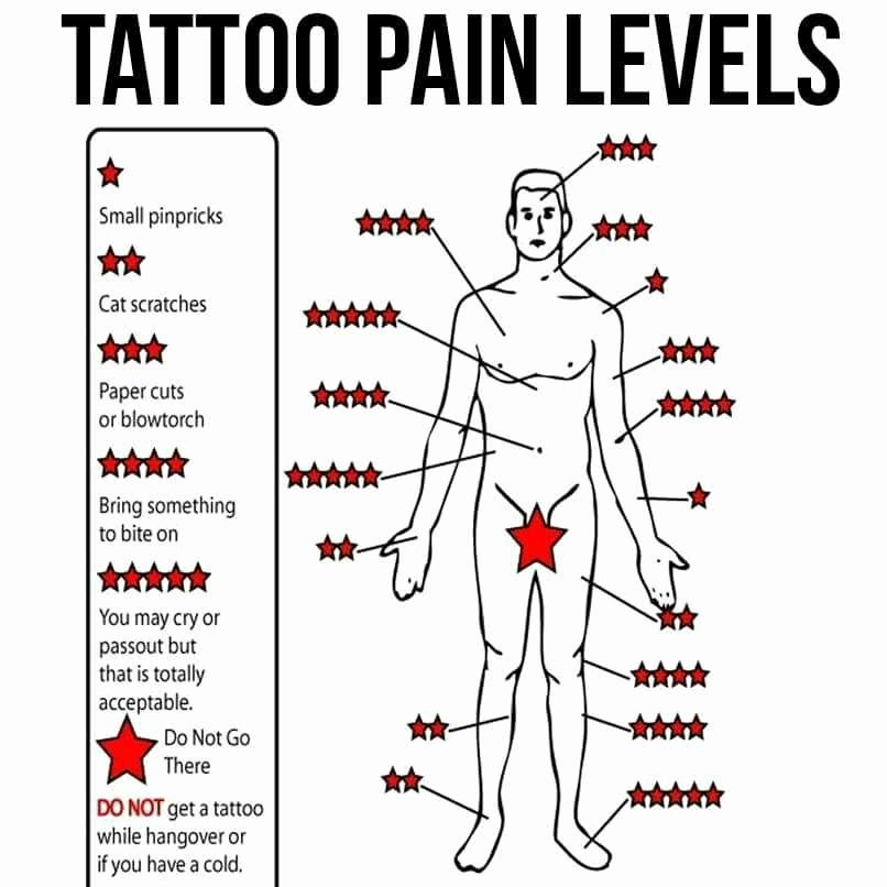 Body Piercing Pain Chart Elegant if It is True Good to Know I Think I D Like to A