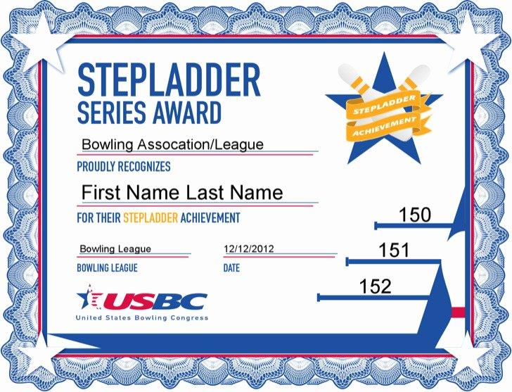 Bowling Certificate Templates Free Elegant 1 Bowling Certificate Template Free Download