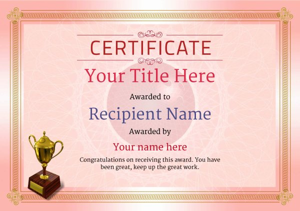 Bowling Certificates Template Free New Free Ten Pin Bowling Certificate Templates Inc Printable