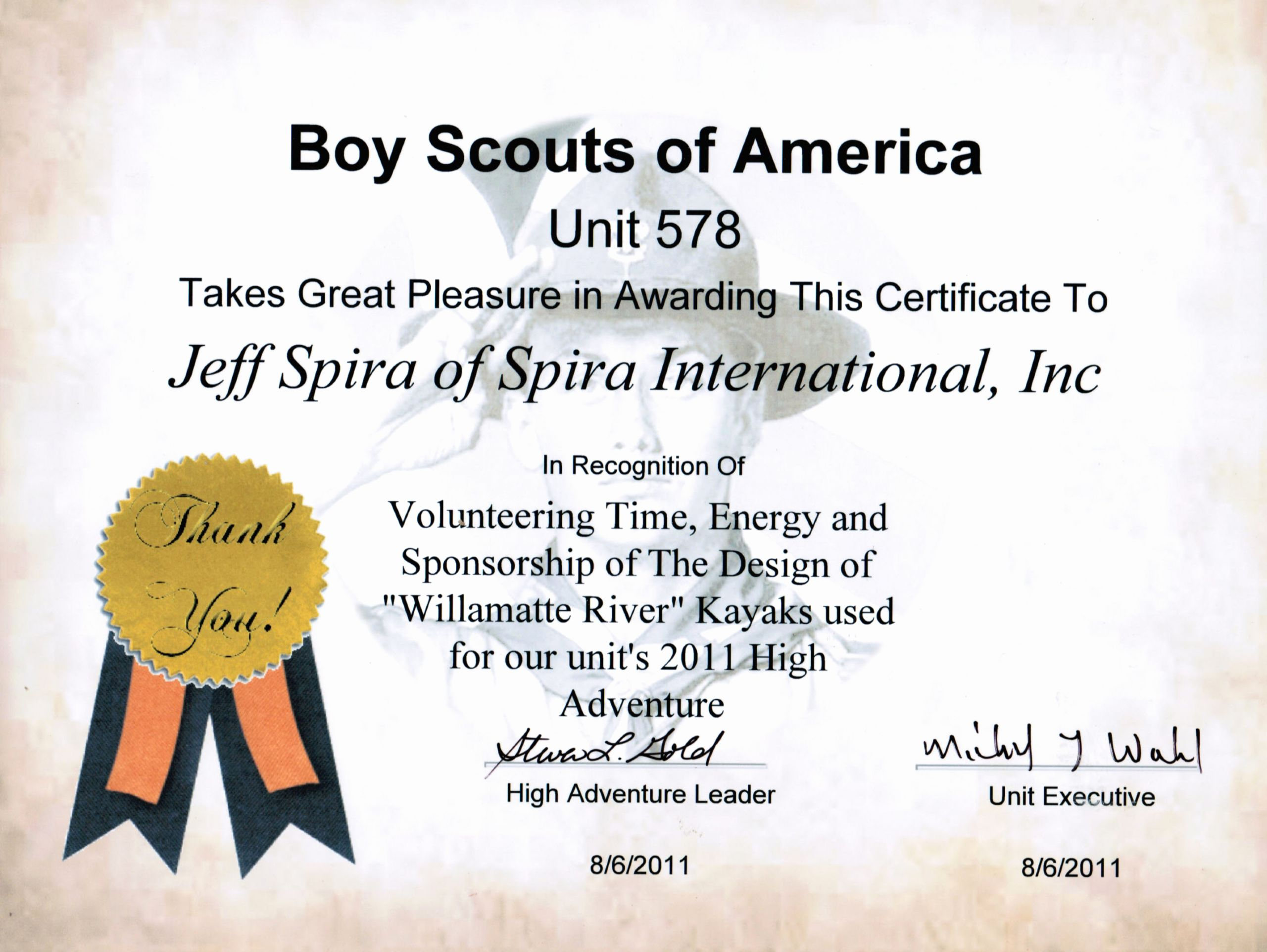 Boy Scout Certificate Of Appreciation Awesome Boatbuilding Tips and Tricks
