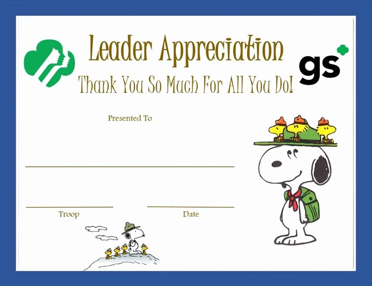 Boy Scout Certificate Of Appreciation Inspirational 232 Best Images About Girl Scout Certificates On Pinterest