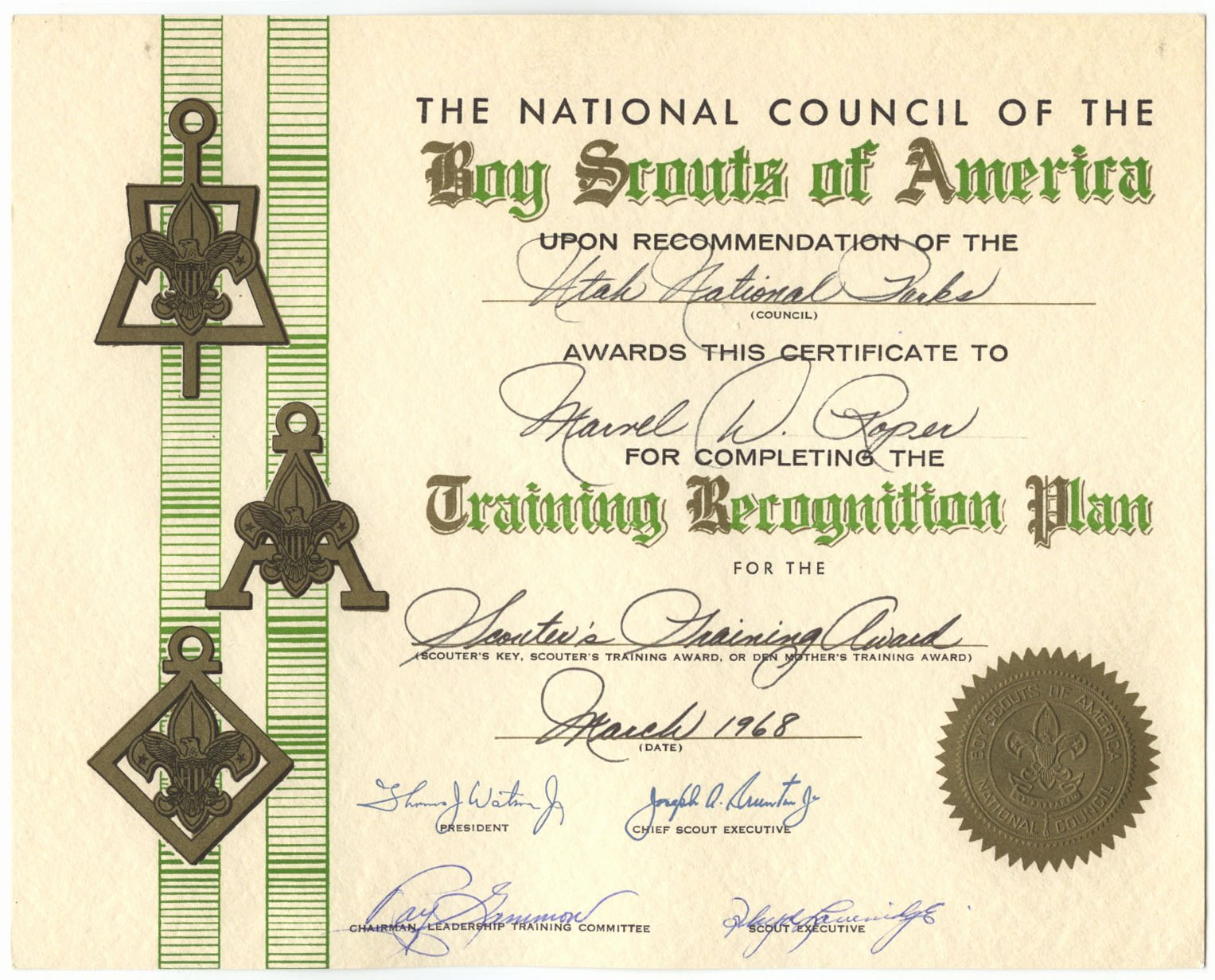 Boy Scout Certificate Of Appreciation Templates Beautiful Free Cub Scout Certificates Of Appreciation