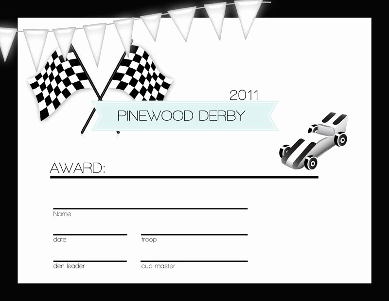 Boy Scout Certificate Template Best Of Persnickety Prints Blog Cub Scouts the Pinewood Derby