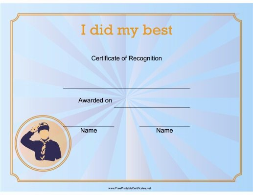 Boy Scout Certificates Templates Lovely 19 Best Images About Certificates On Pinterest