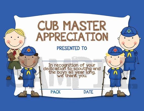 Boy Scout Certificates Templates Unique Quotes About Cub Scout 46 Quotes