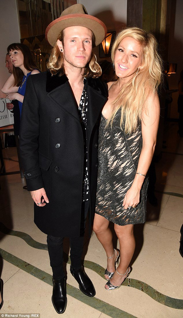 Boyfriend Of the Year Award Elegant Ellie Goulding attends Women the Year Awards with