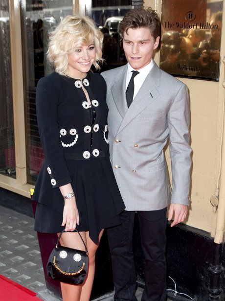 Boyfriend Of the Year Award Inspirational Pixie Lott and Model Boyfriend Oliver Cheshire attend Mum