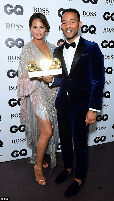 Boyfriend Of the Year Award Unique Gq Men the Year John Legend Dua Lipa and Rose Mcgowan