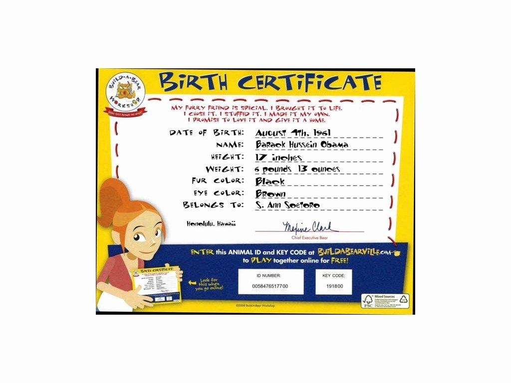 Build A Bear Birth Certificate Pdf Fresh Build A Bear Birth Certificate Build A Bear
