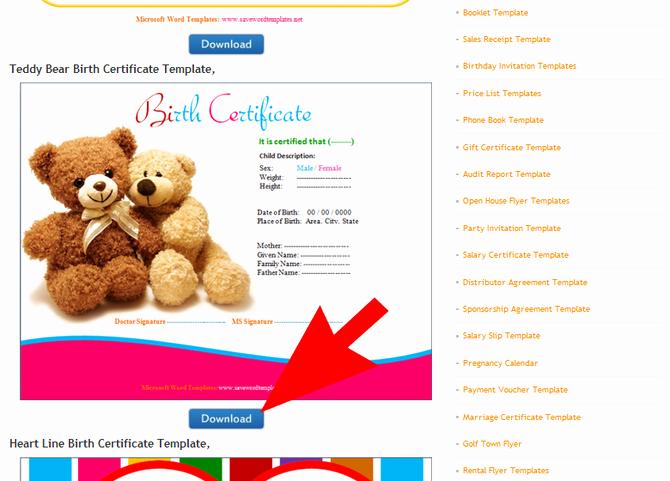 Build A Bear Birth Certificate Pdf Fresh How to Make A Teddy Bear Birth Certificate 9 Steps