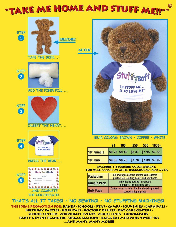 Build A Bear Birth Certificate Pdf Luxury Unstuffed Teddy Bears