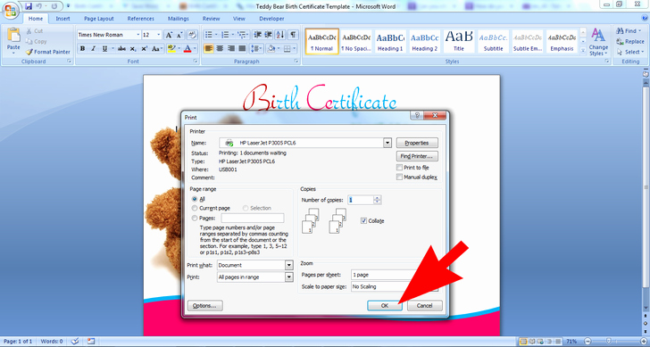 Build A Bear Birth Certificate Pdf New 3 Ways to Make A Teddy Bear Birth Certificate Wikihow
