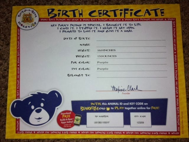 Build A Bear Certificate Maker Fresh Mnc Reviews Build A Bear My Little Pony Princess Twilight