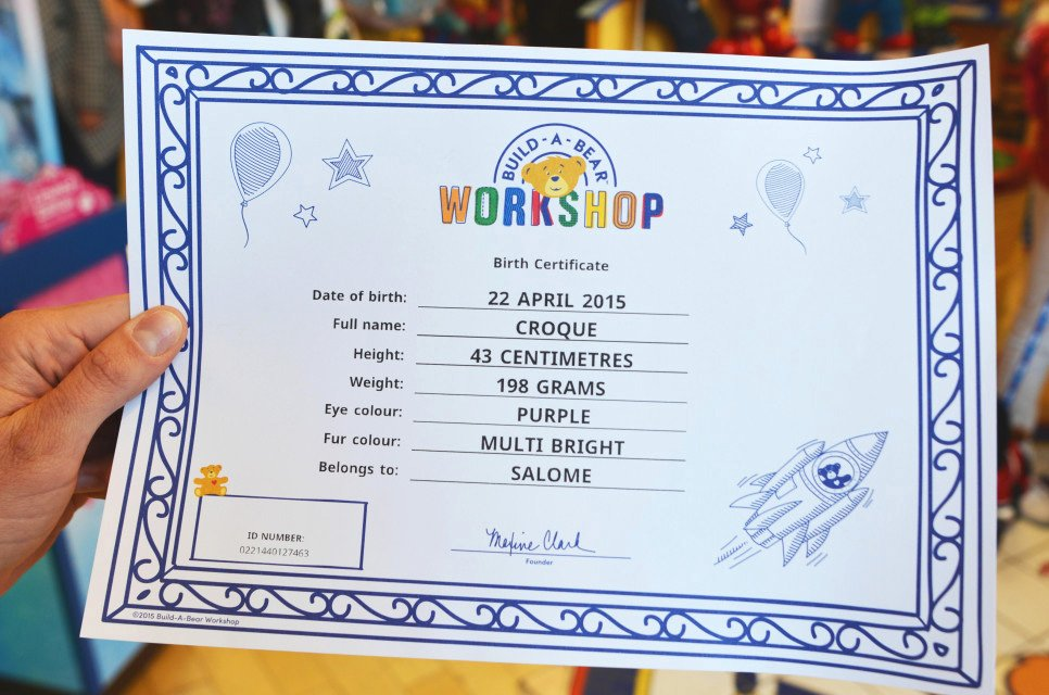 Build A Bear Certificate Template Inspirational Printable Build A Bear Certificate – Printabletemplates