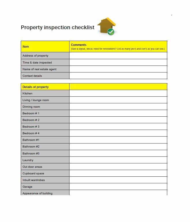 Building Inspection Checklist Pdf Unique 20 Printable Home Inspection Checklists Word Pdf