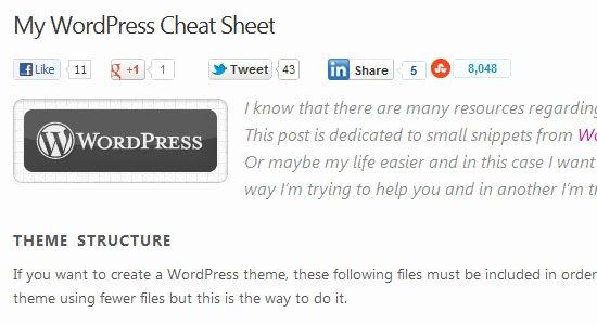 Bump Key Template Pdf Elegant 26 Useful Wordpress Cheat Sheets & Resources Design Bump