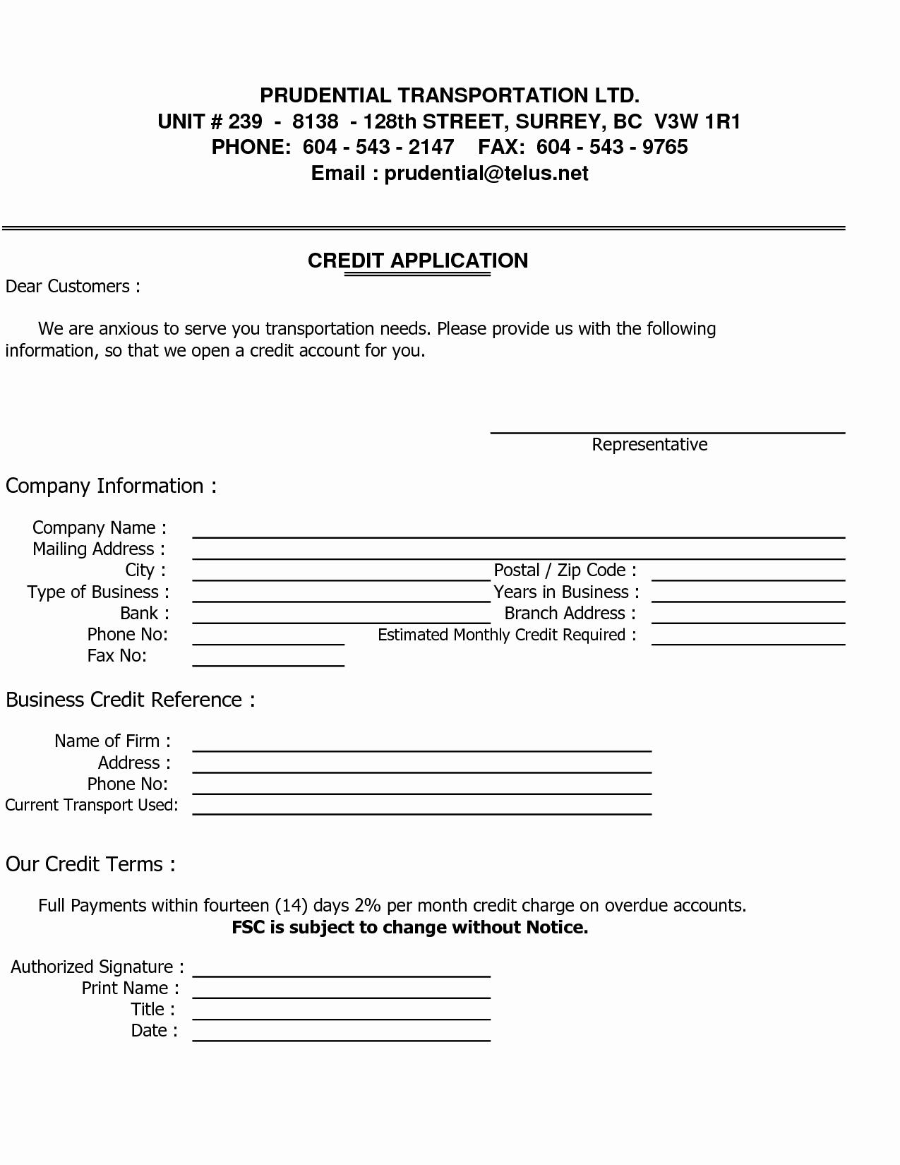 Business Credit Reference form Elegant Sample Credit Reference Letter Template Images Business