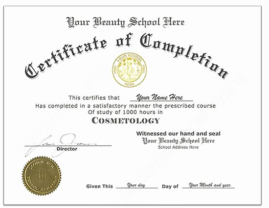 Business License Certificate Template Elegant Make A Fake Degree Certificate for Free – Planner Template